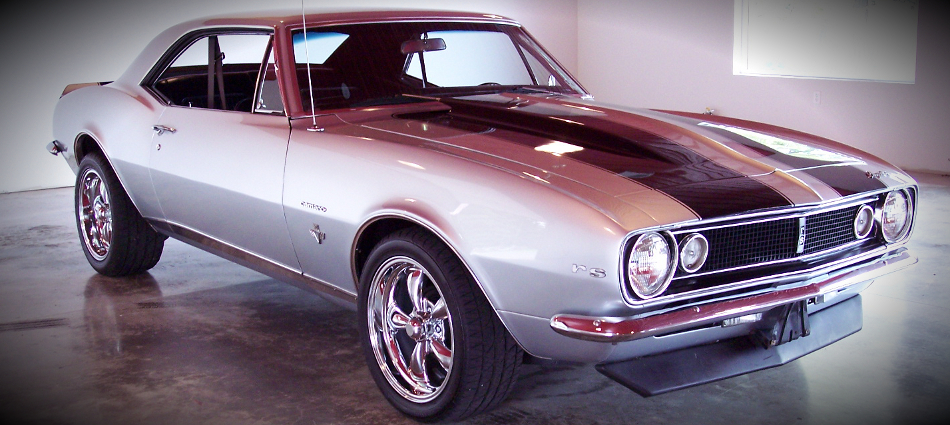 1967 Silver Camaro for Sale 1