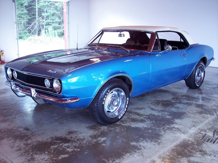 Muscle Car Maximum 187 Archive 1967 Convertible Camaro For