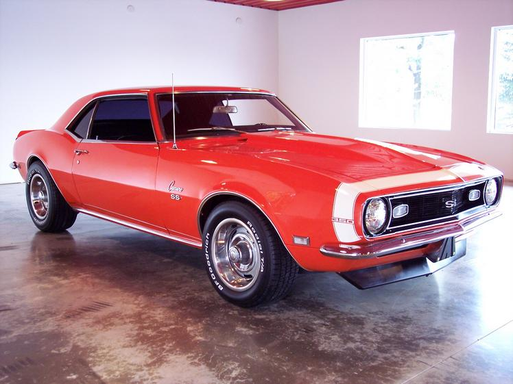1968 hugger orange camaro for sale