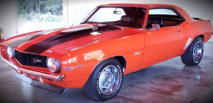 1969 Hugger Orange Camaro for Sale