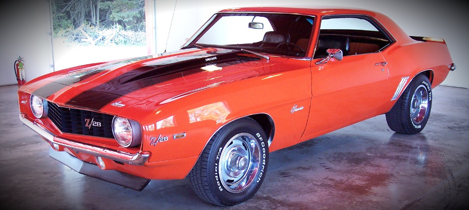 Muscle Car Maximum 187 Archive 1969 Hugger Orange Camaro For